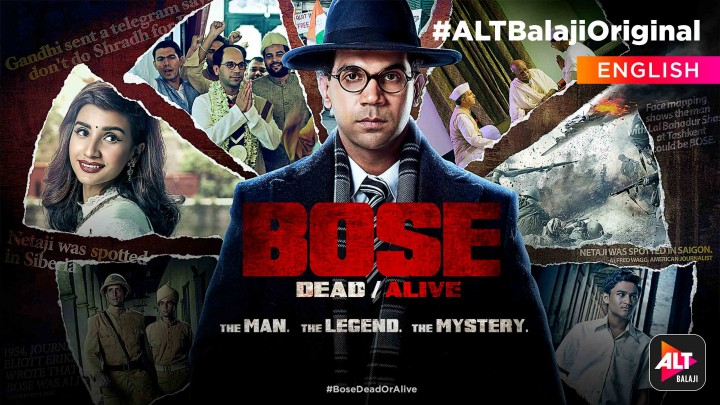 Watch Bose Dead Alive In English A Period Web Series Full