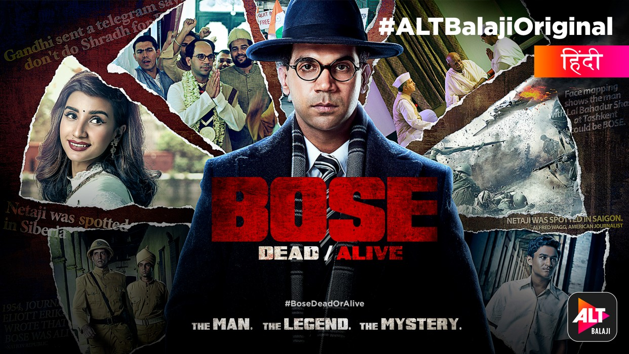 Watch Bose: DEAD/ALIVE Full Series online at ALTBalaji